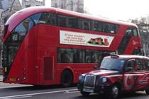 TfL rejects 'severed dog head' bus poster campaign from Peta