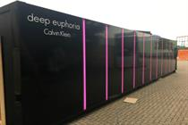 Calvin Klein creates immersive tunnel experience for perfume launch