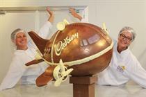 Event TV: How Cadbury created a 70kg chocolate aeroplane