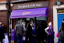How Cadbury is using a pop-up shop to show kindness to Brits