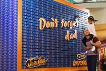 In pictures: McVitie's launches edible installation for Father's Day