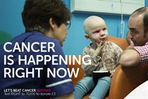 Cancer Research UK launches first ad from Anomaly