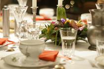 Three London venues serving Christmas dinner