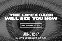 Coach creates 'otherworldly' activation