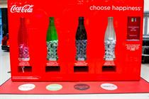 Coca-Cola creates Twitter-powered vending machine