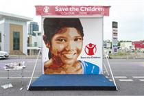 Save the Children creates giant paint-by-numbers installation for Color Run