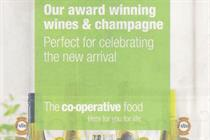 Co-op goes tactical with royal baby ads
