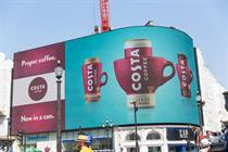 Costa Coffee moves media account to MediaCom