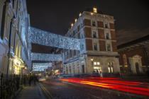 Piggotts lights up London this Christmas