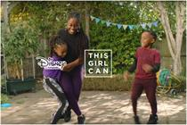 Disney and 'This girl can' join forces in brand collaboration
