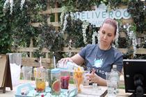 Watch: Behind the scenes at Deliveroo's summer pop-up garden