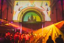 In pictures: Desperados City Hackers host underground laser party in Hackney
