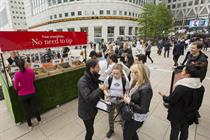 In pictures: The Economist's 'from bin to blender' activation goes live