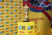 In pictures: DHL takes Rugby World Cup trophy on tour
