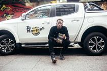 Dr. Martens creates roadside music activations