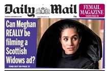 Daily Mail's online ad sales overtake print