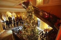 In pictures: Claridge's unveils Dolce & Gabbana Christmas tree