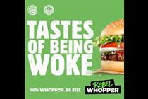 Burger King Rebel Whopper ads banned by watchdog for being misleading