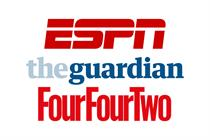 ESPN, FourFourTwo and Guardian team up for Russia World Cup