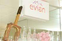 In pictures: Evian unveils activations at Wimbledon