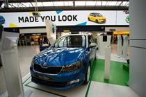 In pictures: Škoda celebrates Fabia launch with AR experience