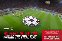 Nissan unveils Champions League competition for football fans