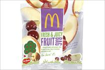 McDonald's launches long-term 'Free Fruit Fridays' Happy Meal promotion
