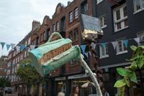 In pictures: Green & Black's creates seven-foot ice cream sculpture
