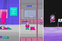Three launches first 8-bit video game on Instagram