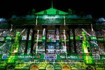 In pictures: Heineken transforms Somerset House into rugby stadium