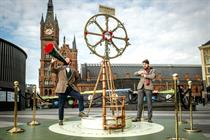 Hendrick's builds 12ft contraption for 'alternative' take on British Summer Time