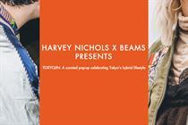 Harvey Nichols creates Japanese pop-up with menswear brand Beams