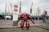 In pictures: Iron Man takes to the streets with Sky Movies