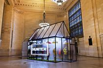 Hunter creates greenhouse in New York's Grand Central Terminal