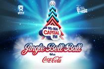 Coca-Cola announced as sponsor of Capital's Jingle Bell Ball