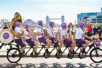 Cadbury fuels Londoners' day with free chocolate