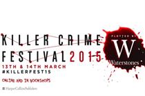 Waterstones and Harpercollins to create Killer Crime Festival