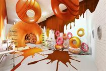 Krispy Kreme to stage doughnut-themed playground