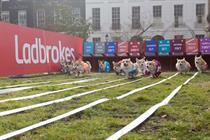 Event TV: Ladbrokes hosts corgi race for royal baby name