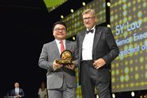 Partner content: SY Lau of Tencent accepts Cannes Lions Media Person of the Year award