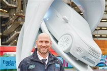 Event TV: Land Rover unveils line out inspired rugby sculptures
