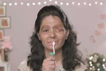 Acid attack campaign group's film is a make-up tutorial like no other