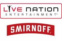 Smirnoff partners with Live Nation for festival activations
