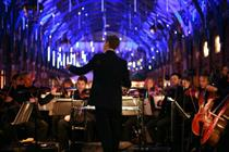 Cadbury collaborates with orchestra for multi-sensory live event
