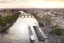 L'Oréal Paris to create floating catwalk for Paris Fashion Week