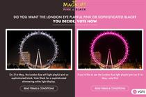 Magnum to light London Eye pink or black
