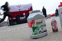 Event TV: Maxinutrition produces riverside street gym