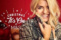 M&S's clothing and home Xmas activity to include targeted online and radio ads