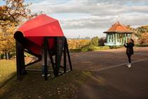 National Trust and Bompas & Parr use a red cone to help protect London views