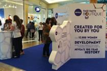 Space launches multi-sensory boutique for Nivea